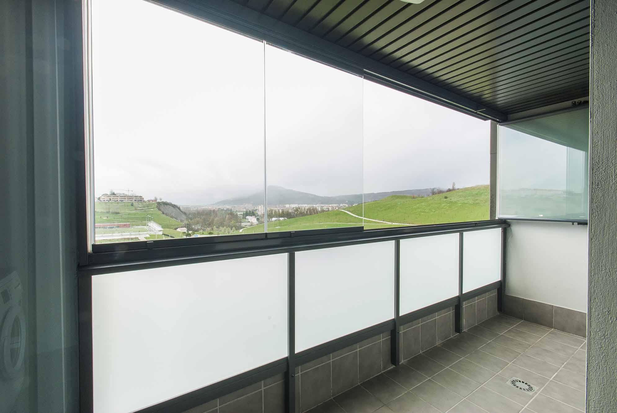 Echarri cristal navarra cortinas correderas de cristal for Acristalamiento de terrazas precios