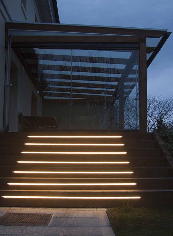 14 porche de madera con cortinas de cristal echarri - Porches de madera y cristal ...