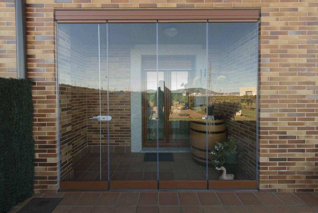 Echarri cristal gipuzkoa y navarra cortinas correderas for Cortina cristal terraza
